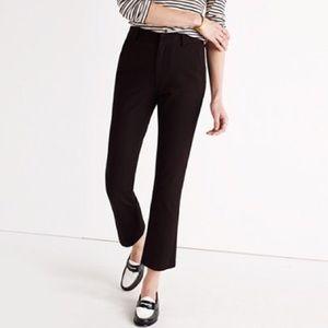 Madewell Cali Demi Boot Black Pants